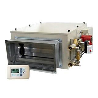 Приточные установки с водяным калорифером