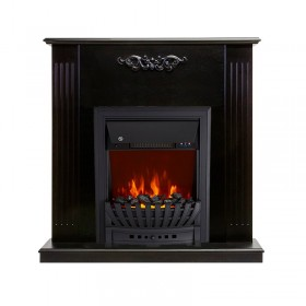 Каминокомплект Lumsden Венге с очагом Royal Flame Aspen Black